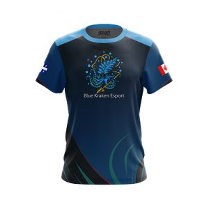 Blue Kraken Esports jersey