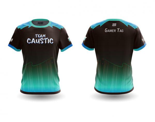 Team Caustic jersey