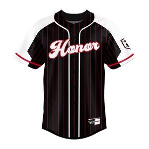 Honor Esports baseball jersey