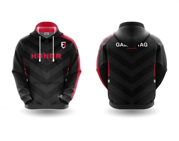 Honor Esports hoodie red