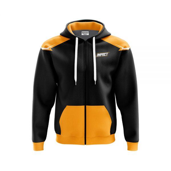 Impact zipper hoodie